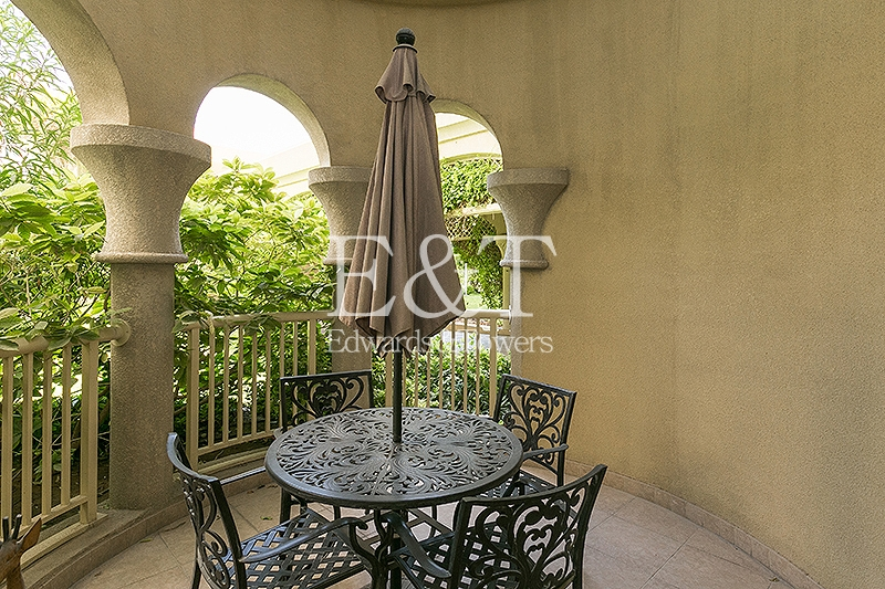 Garden View, 2BR, F/F, Maids Room,High Ceilings,PJ