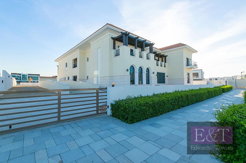 Mediterranean Type A Mansion | Crystal Lagoon view