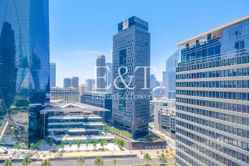 DIFC view | Mid Floor | Vacant On Transfer