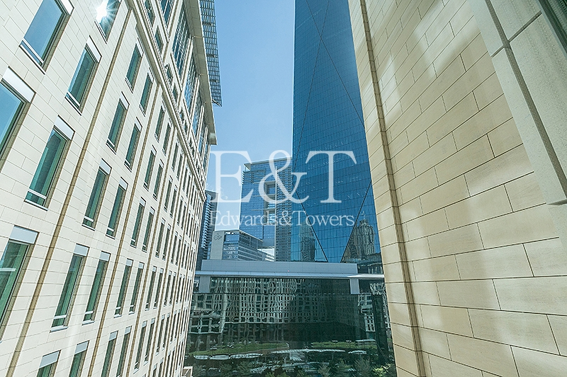 Mid Floor | DIFC Gate Avenue views | Unfurnished