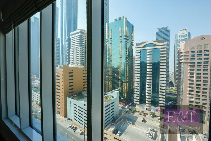 High floor   SZR Views   Chiller Included   DIFC
