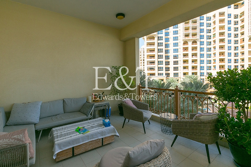 Mid Floor | 2 Balconies | Maintained | Unfurnished
