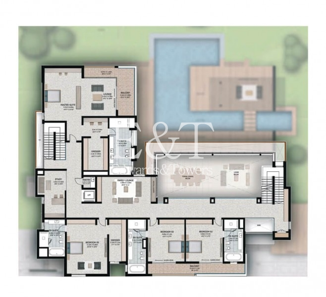 Build your own Dream House with Direct Canal View