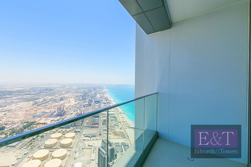 Marina and Sea View | High Floor | Balcony
