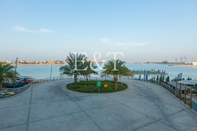Larger 1 Bed | Full Sea View | Low Floor