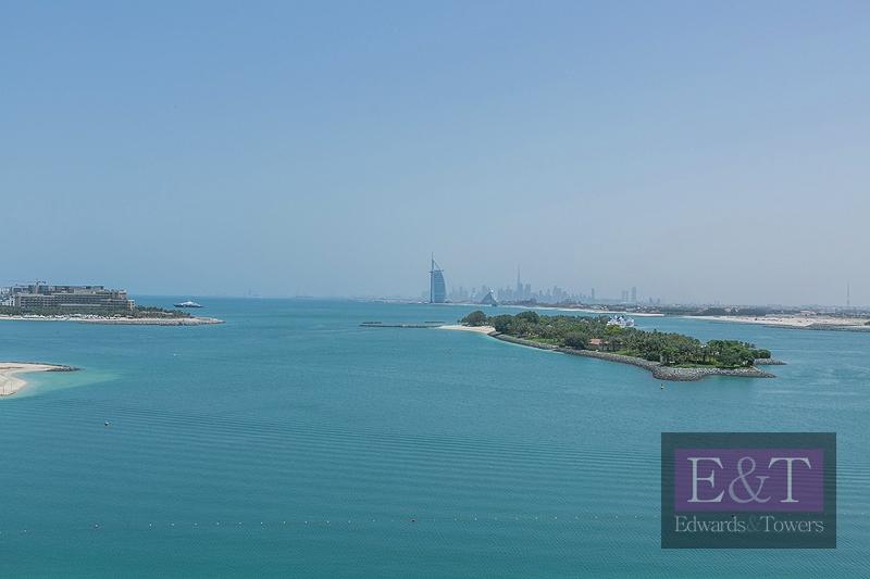 Managed 2 BR with Sea   Burj Al Arab views