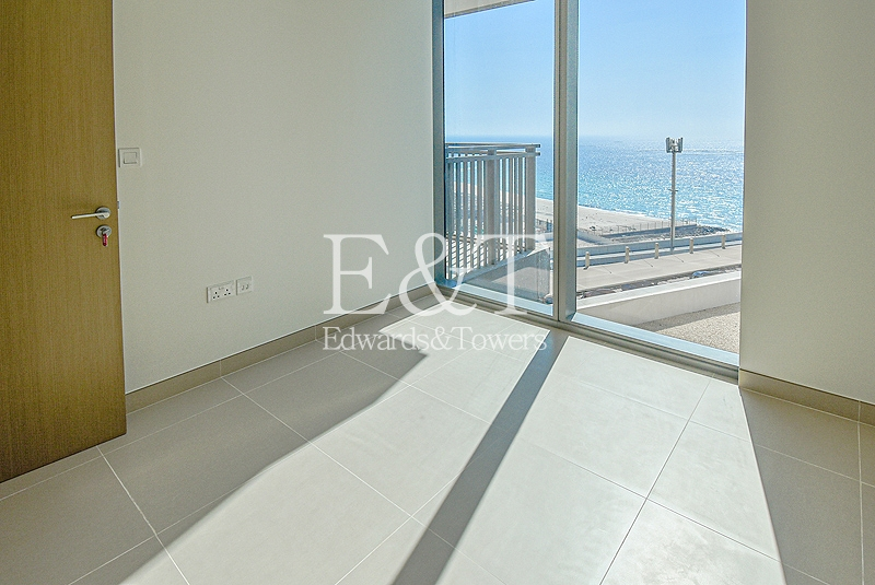 Full Sea View | 01 Layout | Appliances Included