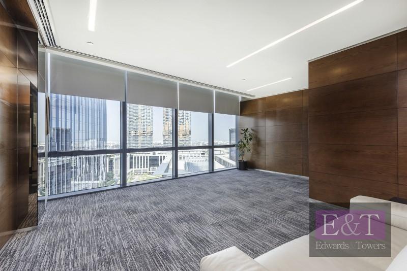 High End Furnished Office Burj Khalifa View