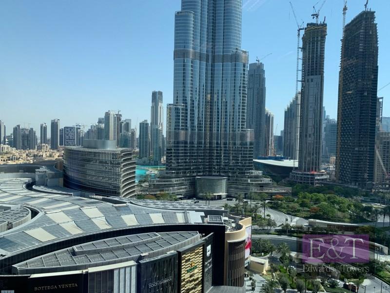 Beautiful Vacant Office facing Burj Khalifa