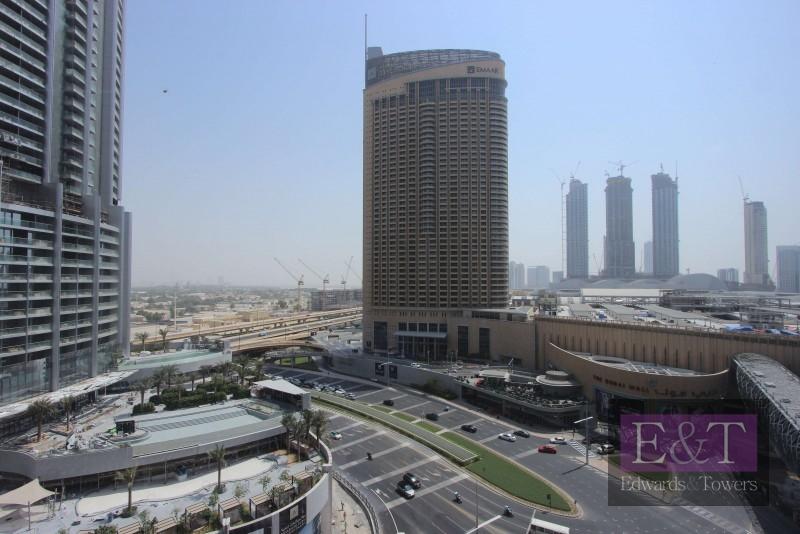 Half Floor Rented Office Full Burj Khalifa View