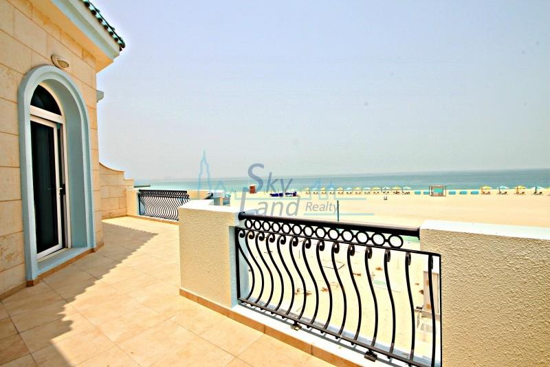 BEACH FRONT EXCELLENT  5 BED W/ POOL  IN UMM SUQEIM 2