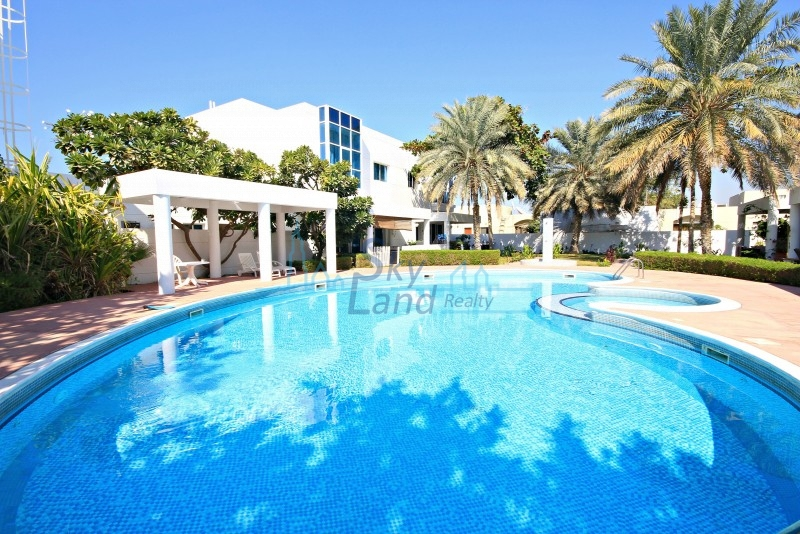 BEAUTIFUL  4 BED IN A COMPOUND WITH POOL IN UMM SUQEIM 1
