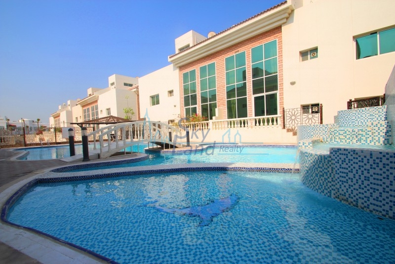 BEACH SIDE VERY SPACIOUS AND BRIGHT 4B+MAID'S WITH SHARED POOL