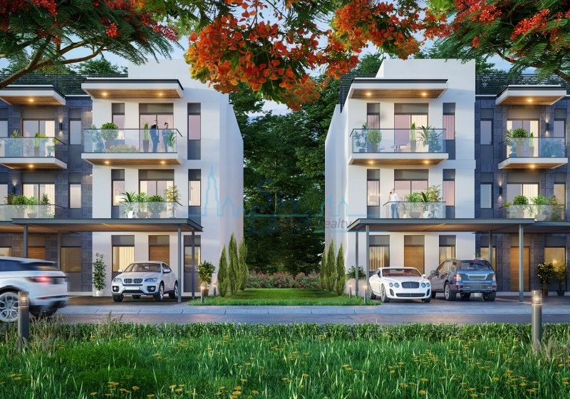 HIGH QUALITY 4 BEDROOM  G+2 TOWNHOUSE IN MBR SOBHA