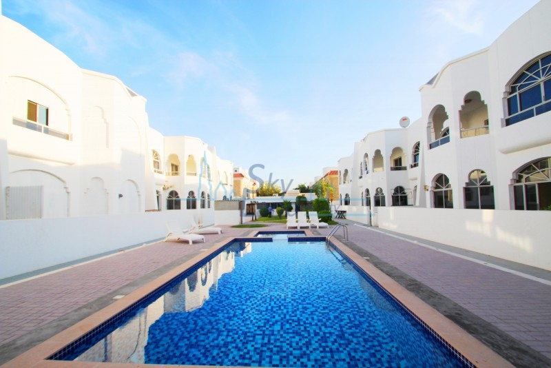 SPACIOUS 5BED+MAID'S SHARED POOL  IN UMM SUQEIM 2
