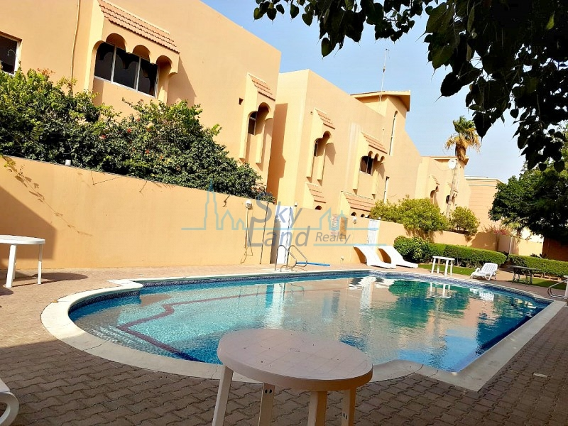 LOVELY 3 BED+MAIDS+STUDY|SHARED POOL|CLOSE TO THE BEACH