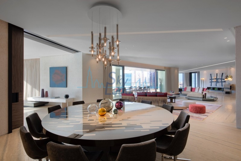Stunning 5,000 Sq.Ft 2BR Penthouse On Dubai Canal