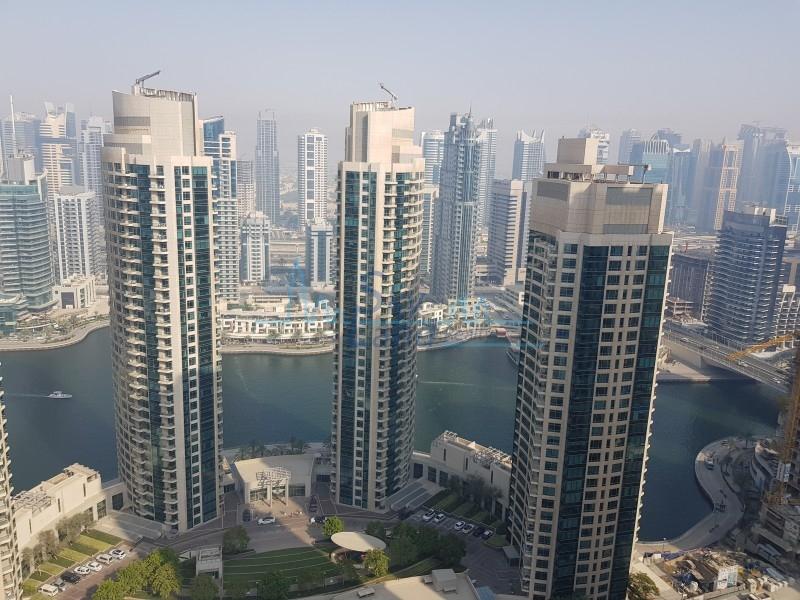 Marina & Sea View / High Floor / Unfurnished