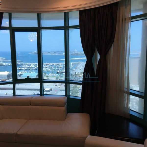Full Sea View Fully Furnished Chiller Free