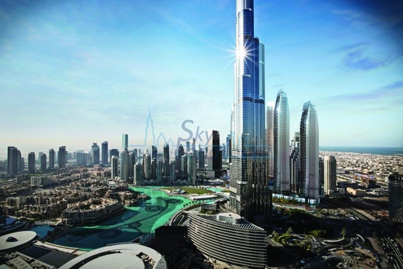 Full Burj Khalifa View   Address Opera