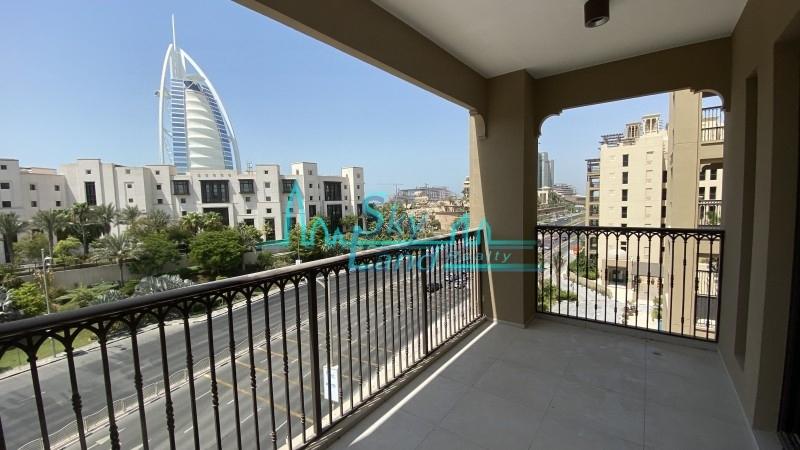 Spacious 3+M With Burj Al Arab Views MJL