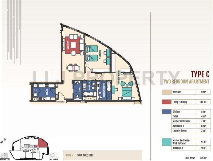 Brand New 1 Bed in Prime Location *No Agency Fees*