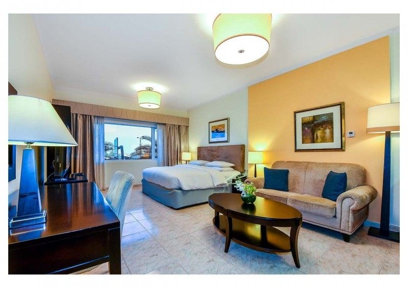 Studio Hotel Apartment For Rent in  Marriott Harbour Hotel And Suites,  Dubai Marina | 0