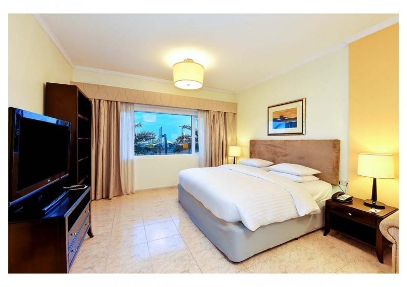 Studio Hotel Apartment For Rent in  Marriott Harbour Hotel And Suites,  Dubai Marina | 3