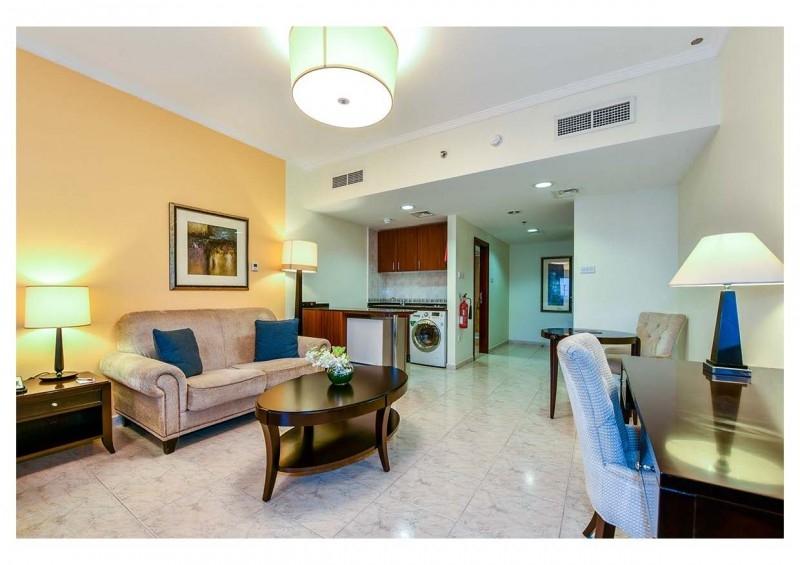 Studio Hotel Apartment For Rent in  Marriott Harbour Hotel And Suites,  Dubai Marina | 5