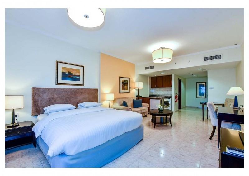 Studio Hotel Apartment For Rent in  Marriott Harbour Hotel And Suites,  Dubai Marina | 1