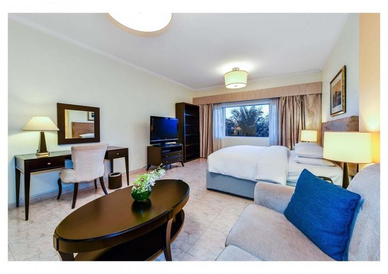 Studio Hotel Apartment For Rent in  Marriott Harbour Hotel And Suites,  Dubai Marina | 4