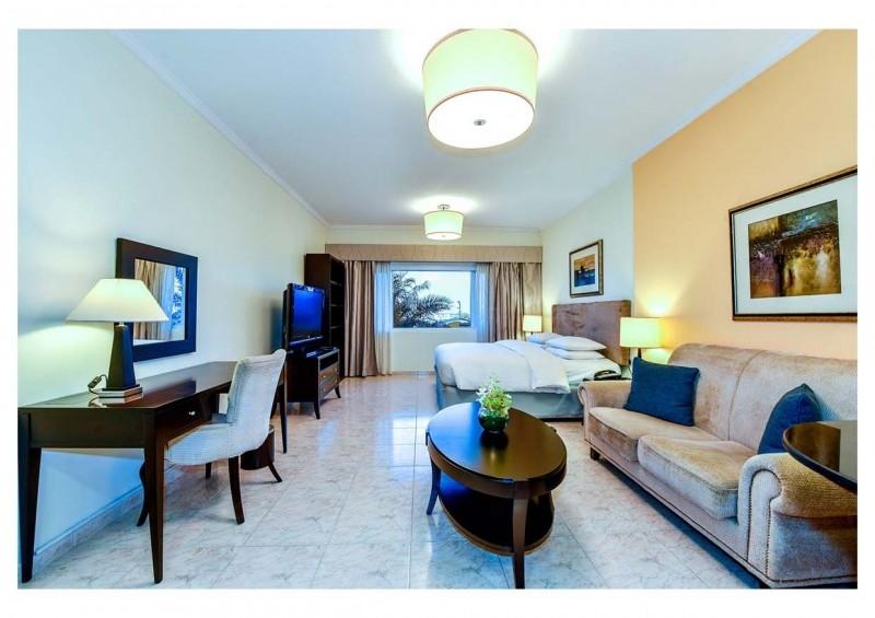 Studio Hotel Apartment For Rent in  Marriott Harbour Hotel And Suites,  Dubai Marina | 2