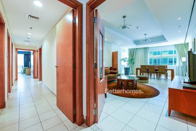 2 Bedroom Hotel Apartment For Rent in  Tamani Hotel,  Dubai Marina | 1