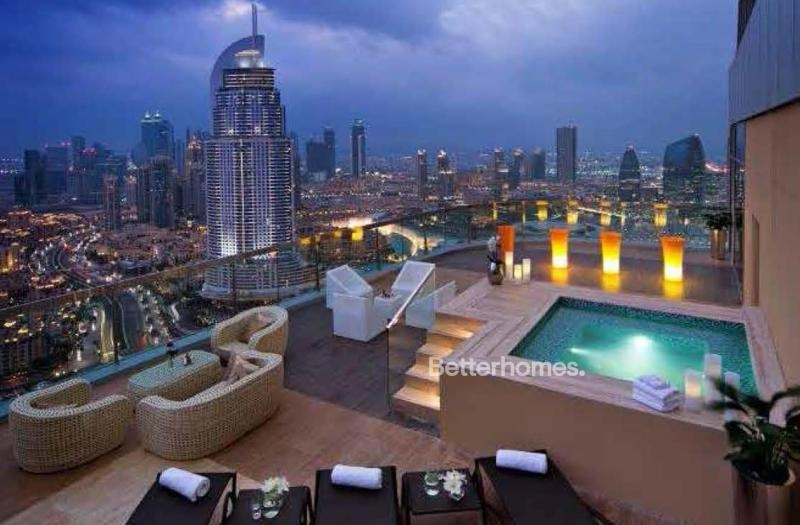 3 Bedroom Apartment For Rent in  Upper Crest,  Downtown Dubai | 9