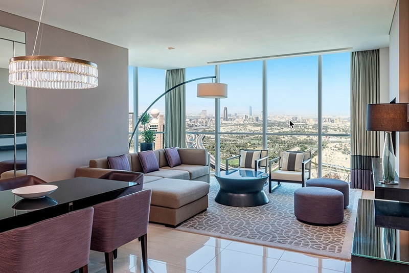 2 Bedroom Hotel Apartment For Rent in  Sheraton Grand Hotel,  Sheikh Zayed Road   0
