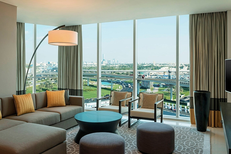 1 Bedroom Hotel Apartment For Rent in  Sheraton Grand Hotel,  Sheikh Zayed Road | 0
