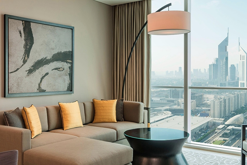 2 Bedroom Hotel Apartment For Rent in  Sheraton Grand Hotel,  Sheikh Zayed Road   5