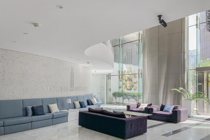1 Bedroom Apartment For Rent in  Marina Heights,  Dubai Marina   8