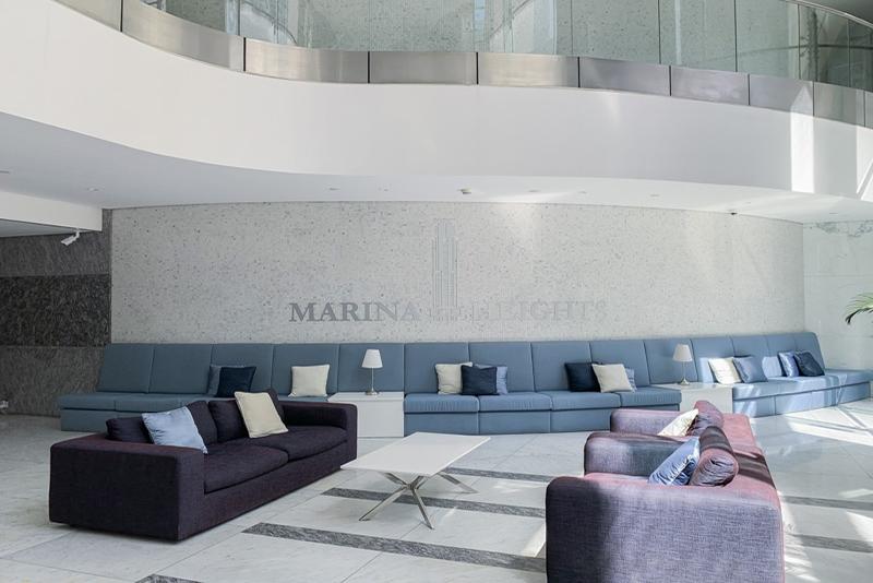 1 Bedroom Apartment For Rent in  Marina Heights,  Dubai Marina   9