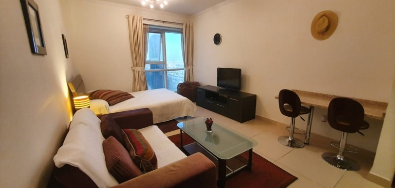 Studio Apartment For Rent in  Goldcrest Executive,  Jumeirah Lake Towers   0