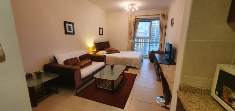 Studio Apartment For Rent in  Goldcrest Executive,  Jumeirah Lake Towers   9