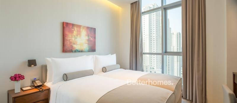 3 Bedroom Hotel Apartment For Rent in  Intercontinental Dubai Marina,  Dubai Marina | 3