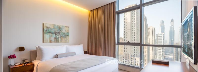 3 Bedroom Hotel Apartment For Rent in  Intercontinental Dubai Marina,  Dubai Marina | 2