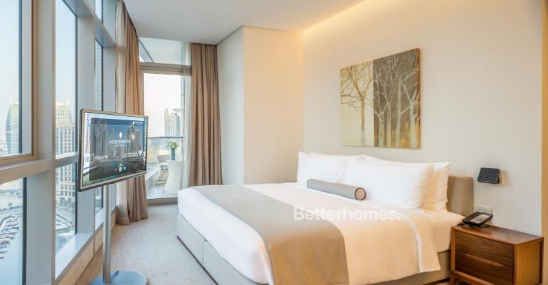 1 Bedroom Hotel Apartment For Rent in  Intercontinental Dubai Marina,  Dubai Marina | 0