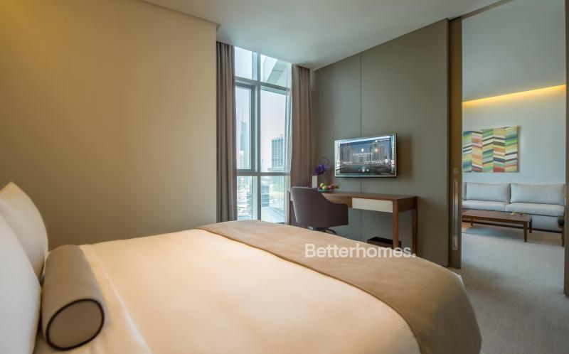 1 Bedroom Hotel Apartment For Rent in  Intercontinental Dubai Marina,  Dubai Marina | 2