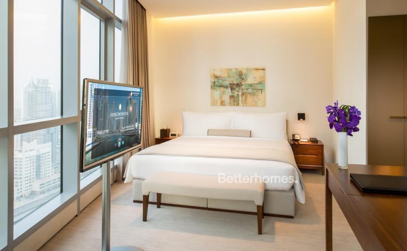 1 Bedroom Hotel Apartment For Rent in  Intercontinental Dubai Marina,  Dubai Marina | 1
