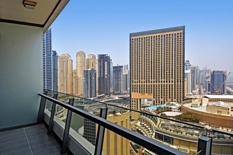 1 Bedroom Apartment For Rent in  Silverene Tower B,  Dubai Marina | 0