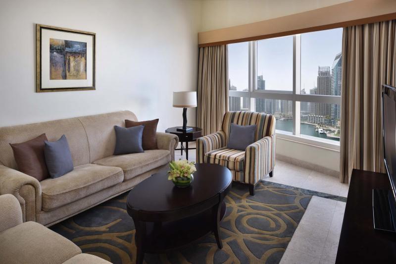 3 Bedroom Hotel Apartment For Rent in  Marriott Harbour Hotel And Suites,  Dubai Marina | 6