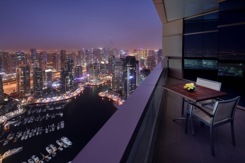 3 Bedroom Hotel Apartment For Rent in  Marriott Harbour Hotel And Suites,  Dubai Marina | 3