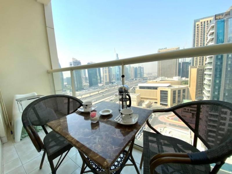 Studio Apartment For Rent in  Marina View Tower A,  Dubai Marina | 4